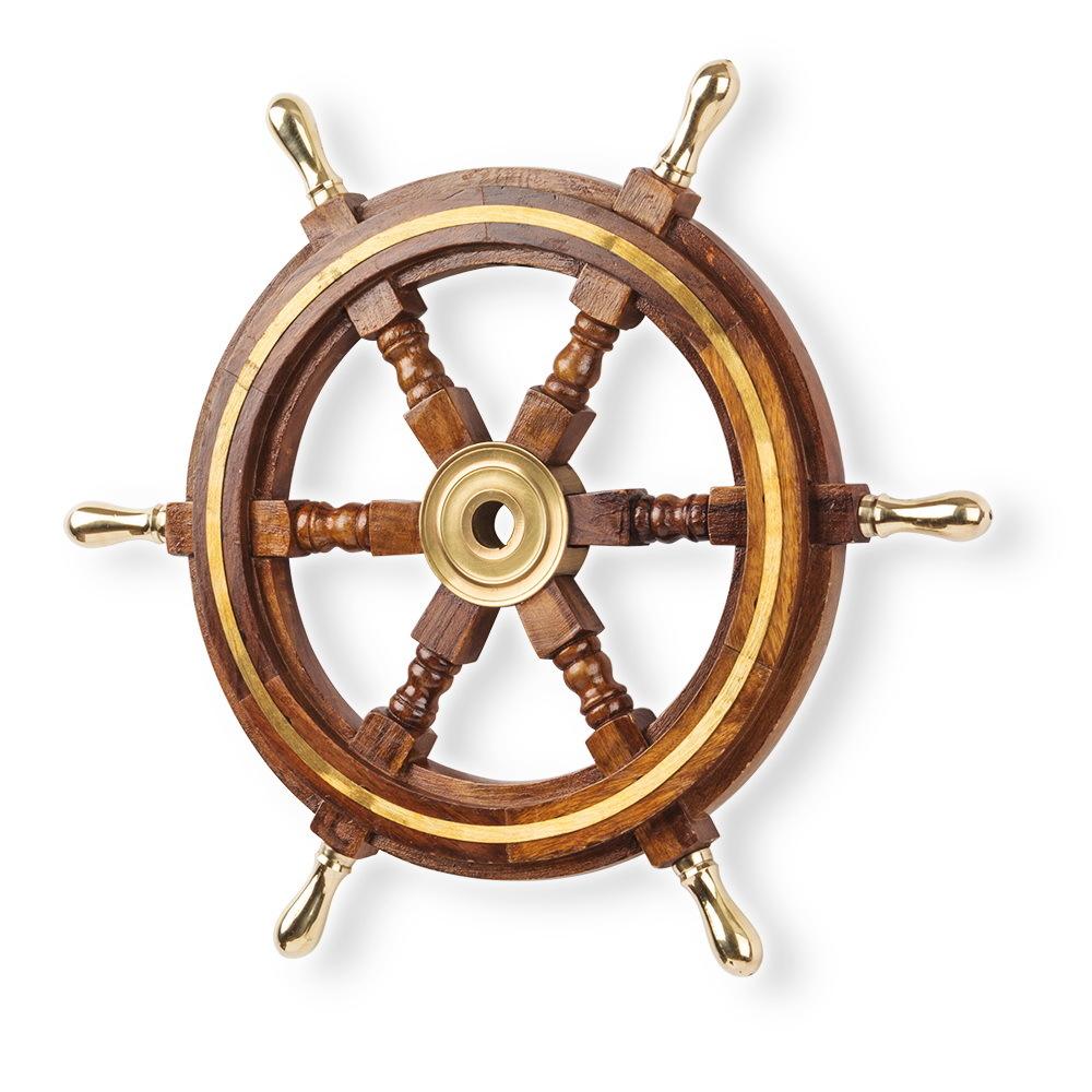 картинка штурвала корабля с якорем внутри стыковых соединений захлестов