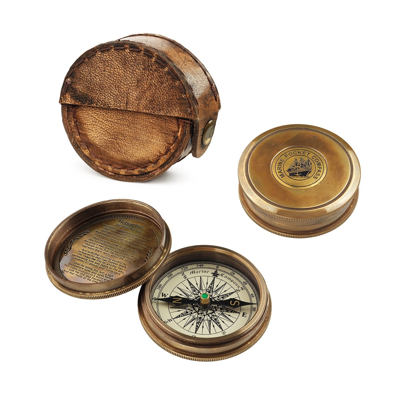 "Компас сувенир ""MARINE POCKET COMPASS"""