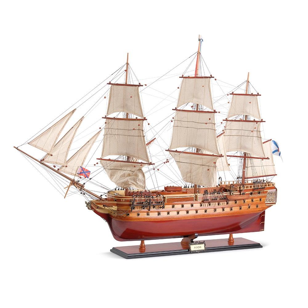 модели ручной работы из дерева корабли